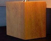 コードレスライト 台座:長方形 ナチュラル