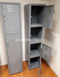 Locker metalico de 3 y 4 puertas