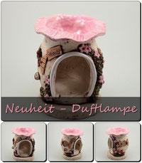Keramik Duftlampe