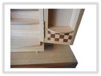 U0101Z00 上置き市松模様形見箱蓋