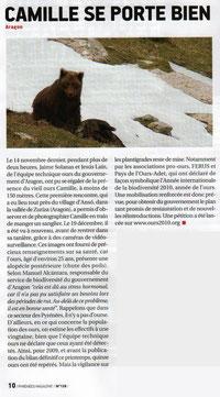 article Pyrénées-Magazine de mars 2010