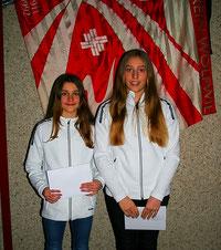Jeanne Marie Fürst, Ramona Huwiler - 12. Rang K5 Mannschaft K5, 42. Rang Einzel K5 (Jeanne) an den Schweizermeisterschaften GETU