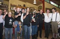 3-6-2012 -  Premiazione dei nostri soci  alla rievocazione storica , 2012 ,della Sei Giorni di Varese