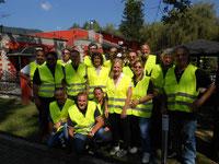 30-Agosto 2015 - 22° Motoraduno di Luino ( gruppo staffette )