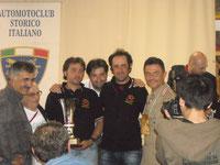 5-6-2011 - Premiazione dei nostri soci alla rievocazione storica , 2011, della Sei Giorni di  Varese