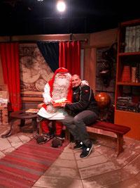 Alessandro a casa di Babbo Natale