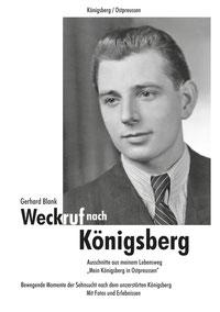 "Buchtitel ""Weckruf nach Königsberg"""