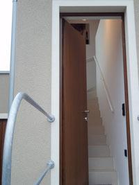 Eigener Eingang zur Wohnung