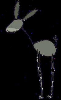 ferme pédagogique des vigneaux âne