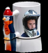 """Mug """"Pinguoin""""."""