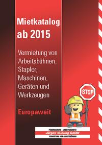 Mietkatalog 2015, plan2 werbeagentur metelen