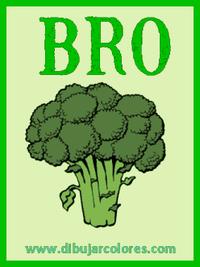 primera carta baraja brocoli
