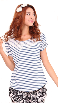 nursing top short sleeve
