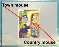 "Spotlight 2 Module 1 ""Town Mouse and Country Mouse"""