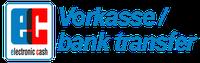 Sichere Zahlung per Kreditkarte (Visa, Mastercard)