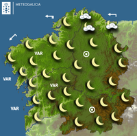 Previsión meteorológica para la noche del 21/09/2017