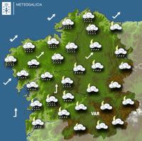 Previsión meteorológica para la noche del 24/10/2017