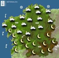 Previsión meteorológica para la noche del 17/01/2018
