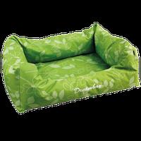 Corbeille chien verte