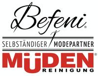 mueden.de, Maßhemd, Video Hemd Vermessen, Logo Befeni/Müden