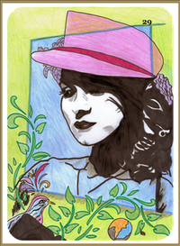 Lenormand Dame