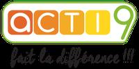 Logo Acti 9 - Fait la différence