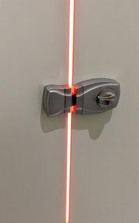 Illuminated restroom doorlocks