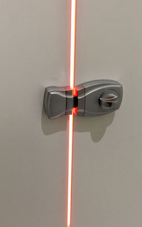 Illuminated restroom doorlocks