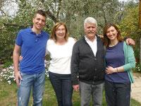 Tai Chi und Qi Gong Ferienseminare mit Karina Berg in Griechenland, Gastgeberfamilie Anagnostou