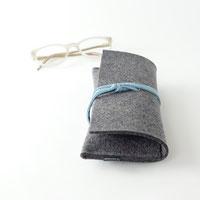 Brillenetui aus Filz minimalistisch Design