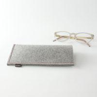 Brillenetui aus filz zum einstecken