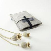 Handyhülle aus Filz  mit Einsteckfach