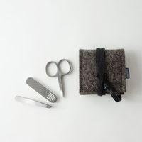 mini-maniküre-set aus filz
