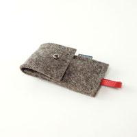 Etui mit Nagelknipser aus Bio-Wollfilz Geschenk für Männer