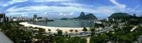 Praia de Botafogo 2011, Panoramabild aus 3 Einzelaufnahmen