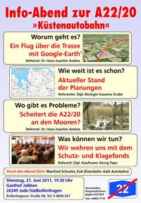 Plakat Info-Veranstaltung