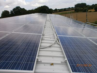 21 kWp, Yingli Module, Wechselrichter von Delta Energy, Gestell von Renusol