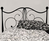 Brass Headboard vinyl wall art sticker