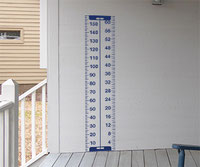 Tape Measure Height Chart sticker wall art CM and IN