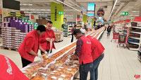 La brioche de 259m à Auchan Vélizy.