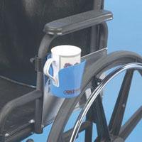 portavasos, portavasos clip on, accesorios para limitacion motriz, cubiertos maddak, maddak, cubiertos para artritis, artritis, limitacion en manos, porta vasos para silla de ruedas, movilidad limitada, ability monterrey, ability san pedro,