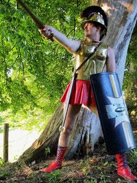 Hoplit Hoplite Kelte kelten Krieger Hallstattzeit