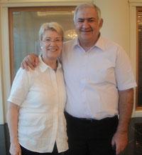 Petra Merkel und Yuval Doron