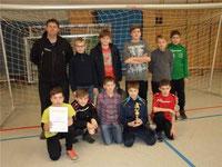Die jüngeren Kicker aus der Pfarreiengemeinschaft Waldmünchen holten in Roding den Fairnesspokal.