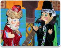 Mobile Puppenbuehne: Sultan