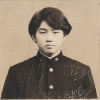 大学受験票の写真 高校三年生時