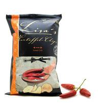 Lisas Chips mit Chilli und Paprika