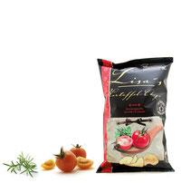 Lisas Chips mit Tomate und Kräutern