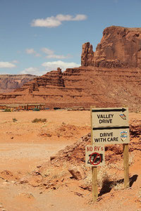 Foto: Valley Drive, Monument Valley