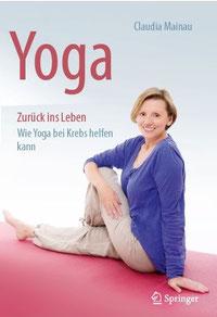 Buch über Yoga bei Krebs von Claudia Mainau